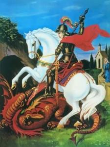 Imagem de São Jorge e Dragão