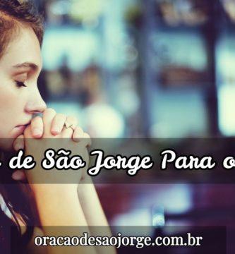 Oração de São Jorge para o amor e proteção do casal
