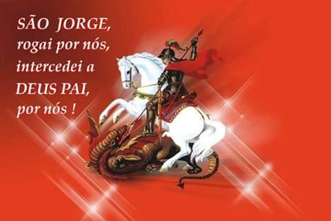 20 Imagens com oração para São Jorge 5