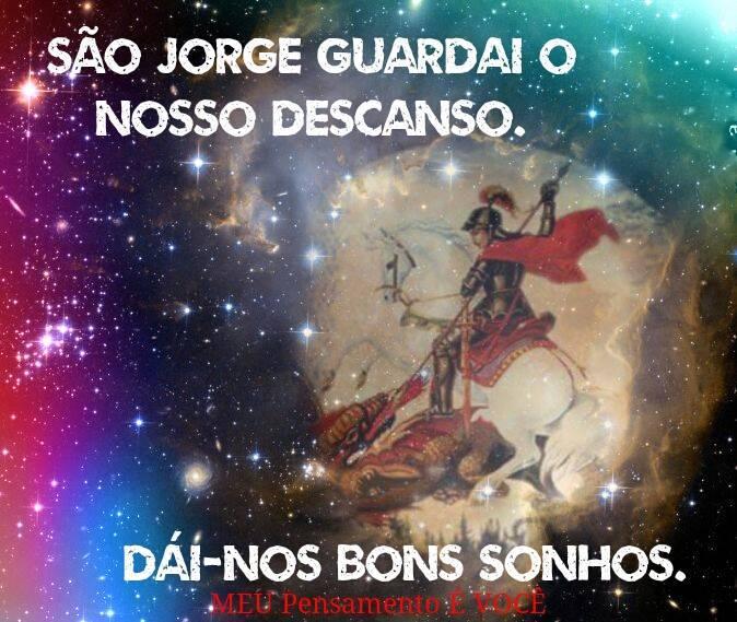 20 Imagens com oração para São Jorge 8