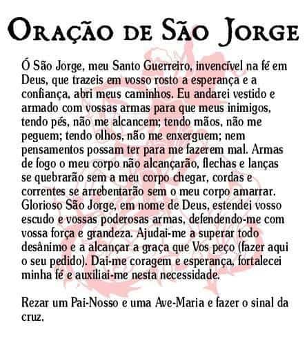 20 Imagens com oração para São Jorge 9