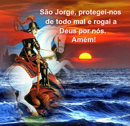 20 Imagens com oração para São Jorge 1