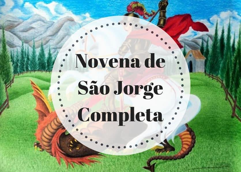 Novena de São Jorge Completa